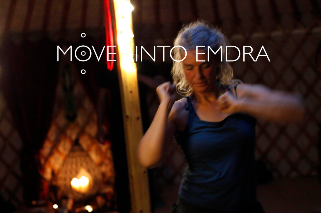 Move into Emdra dance sessions with Cindy Doms ©Return to Emdra 2019