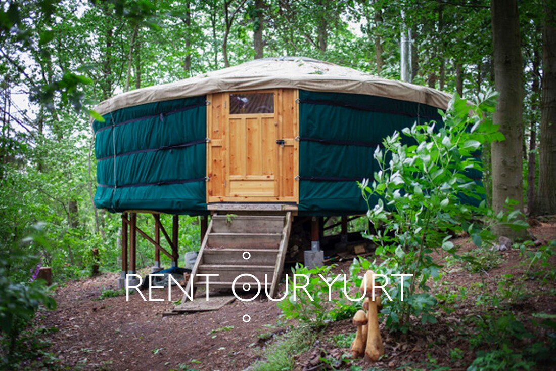 Rent our yurt in the nature of the  South of Belgium ©Return to Emdra 2019